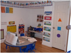 Preschool/Craft area