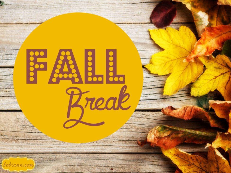 Fall Break - Cherry Creek Schools