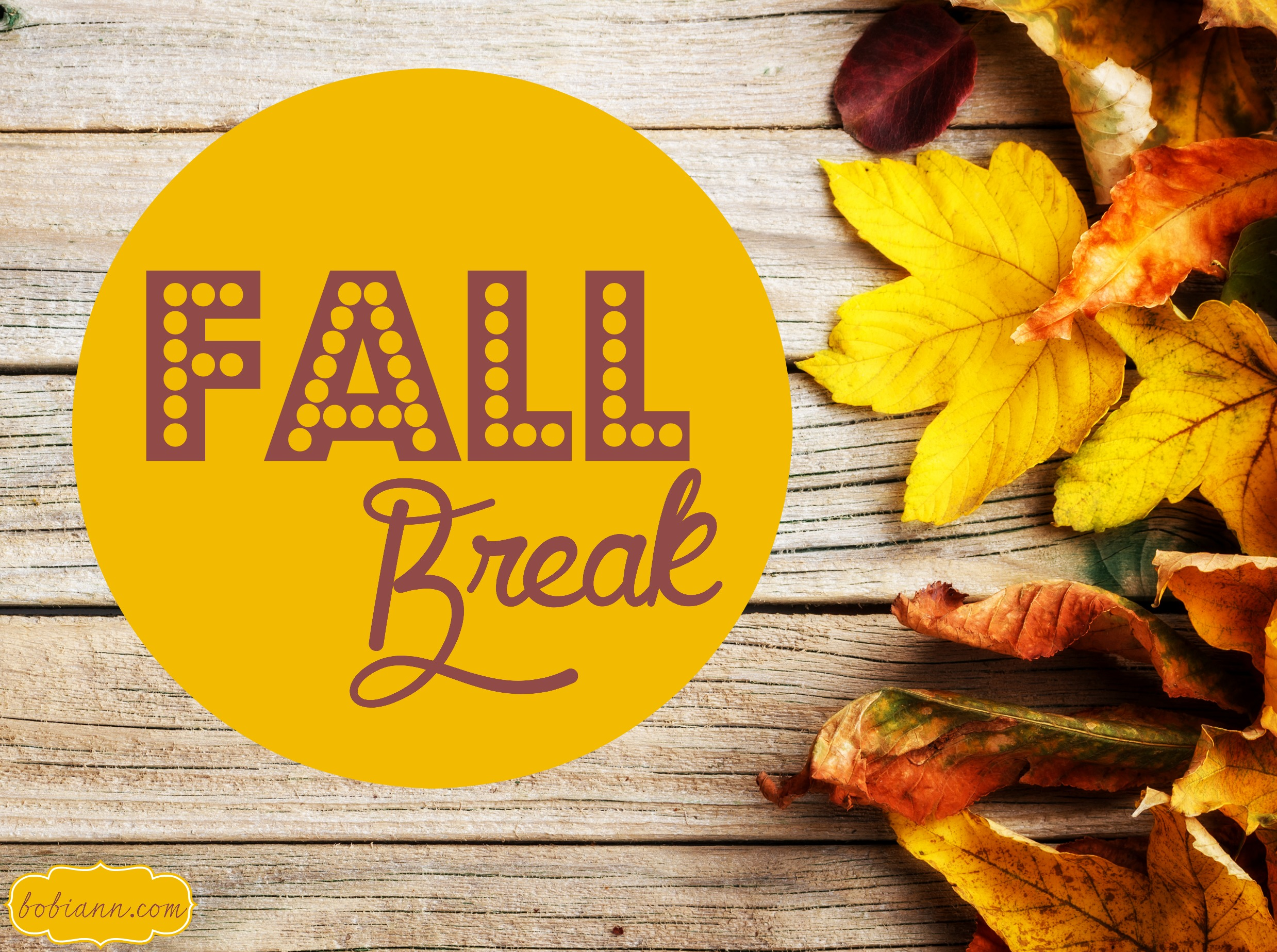 Fall Break - Cherry Creek Schools